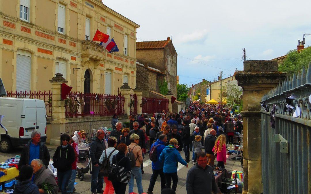 Cérémonie du 1er mai et 27ème marché aux saveurs méditerranéennes 🗓